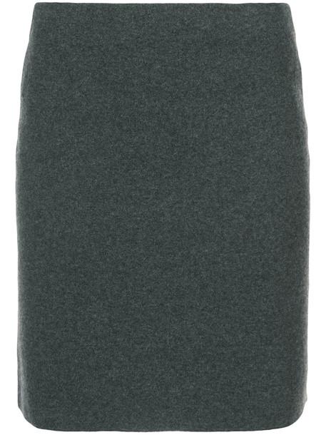 Ralph Lauren Collection skirt short women wool grey