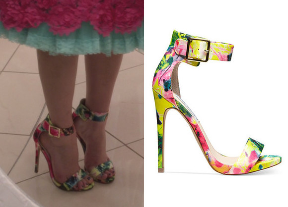 carrie bradshaw carrie diaries shoes