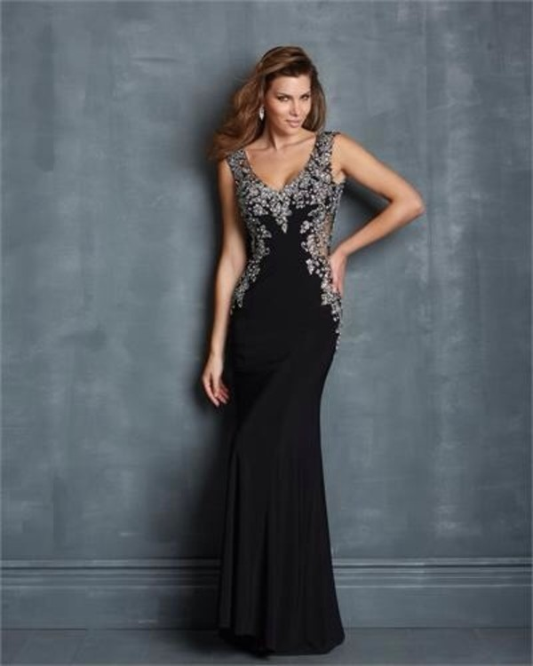 dress classy class beautiful glitter black black dress glamour glamorus dress