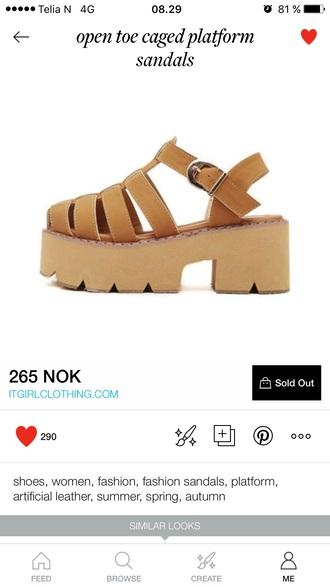 shoes high heel sandals platform sandals sandals