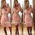 Embellished Midi Bandage Dress Pink