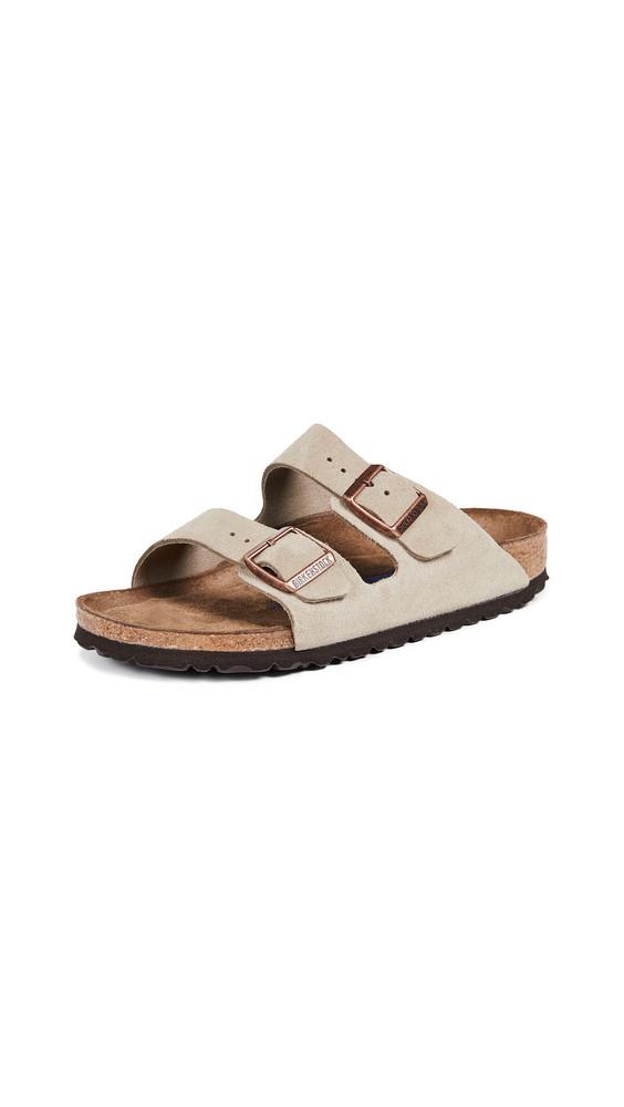 Birkenstock Arizona SFB Sandals in taupe