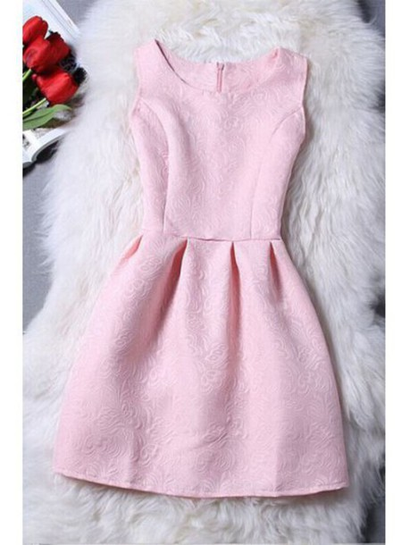 dress pink fashion style trendy light pink cute girly feminine zaful