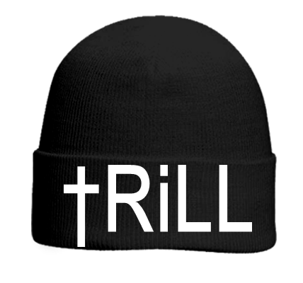 TRILL - Otto Beanie 82-480 - 82-4802047 - Custom Heat Pressed - CustomPlanet.com