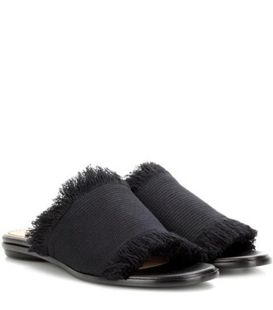 Proenza Schouler sandals black shoes
