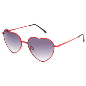 FULL TILT Luv Heart Sunglasses 221470300 | Sunglasses | Tillys.com on Wanelo