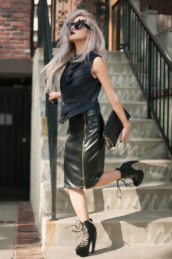 feral creature shoes t-shirt skirt bag