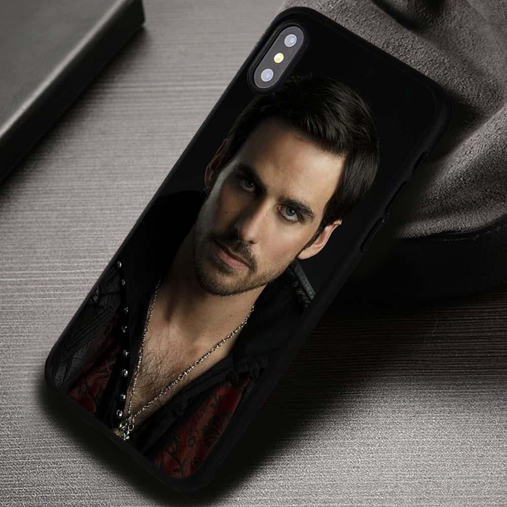 Cool Captain Hook Once Upon a Time - iPhone X 8  7 6s SE Cases & Covers #iPhoneX