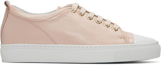 sneakers leather pink pink leather shoes