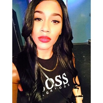 hugo boss black tank top sisterhood of hip hop bia