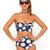 Buy Motel Longline Bikini in Wild Daisy at Motel Rocks