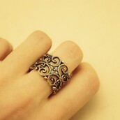 jewels,vintage gothic ring