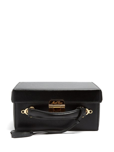 Mark Cross bag leather black