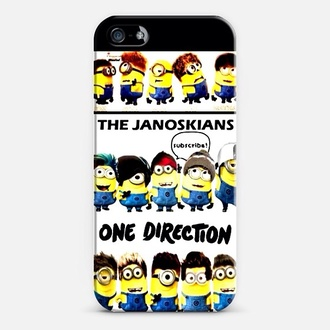 phone cover janoskians one direction