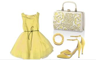 dress clothes fashion fashion week 2016 style stylish style me yellow yellow dress summer summer dress summer outfits spring spring dress celebrity style celebrity bra brand casual girly girl jewels jewelry boho dress bag bagsq handbags handbag clutch wedding wedding accessories bridesmaid blogger lifestyle streetwear