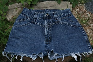 Vintage High Waist Cutoff Rocky Mountain Jean Shorts | eBay