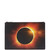 Eclipse-print coated-canvas pouch
