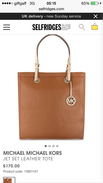 bag selfridges michael kors brown bag nude