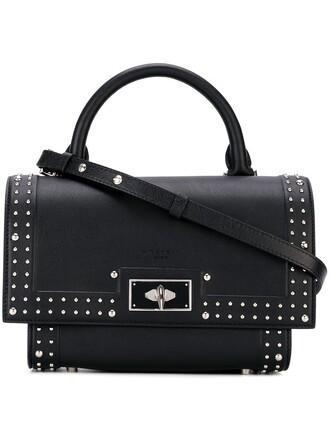 mini shark bag crossbody bag black