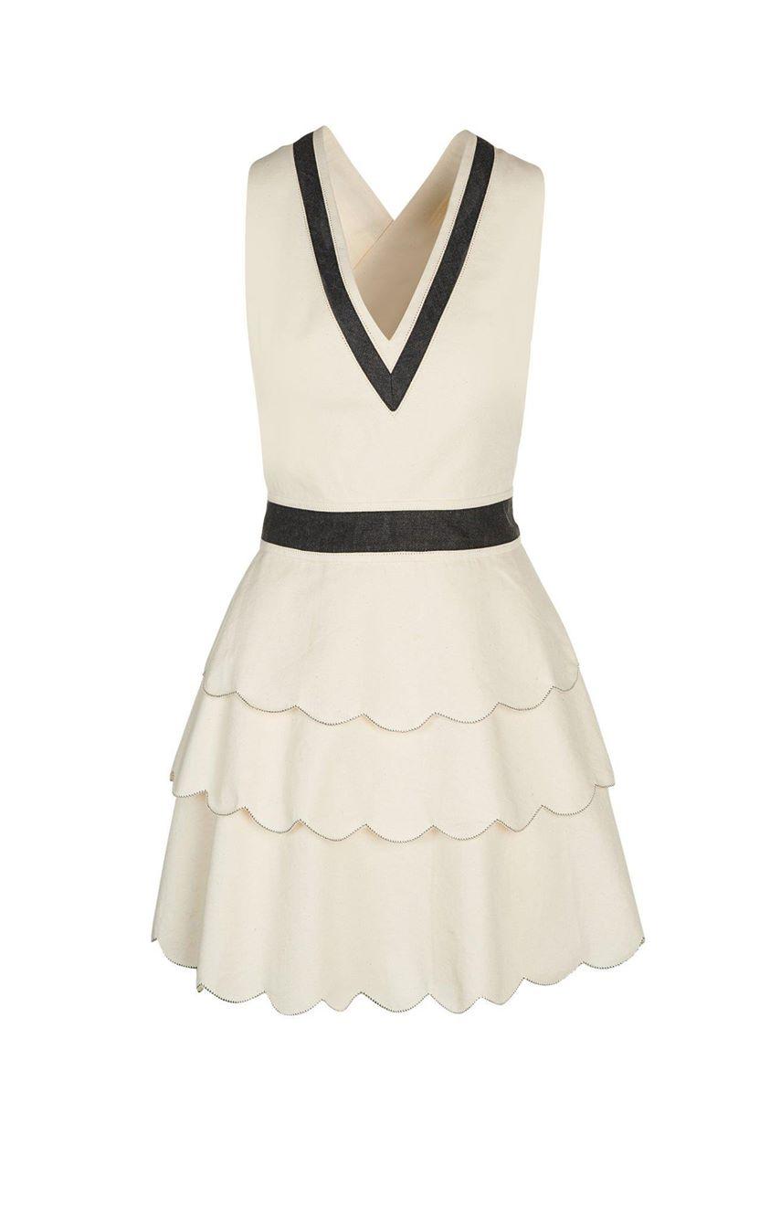 Marysia | Paros Dress in Shell | Swim and Resort Wear
