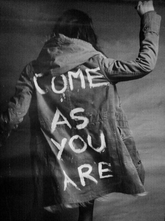jacket nirvana krist novoselic kurt cobain come as you are coat song grunge dave grohl