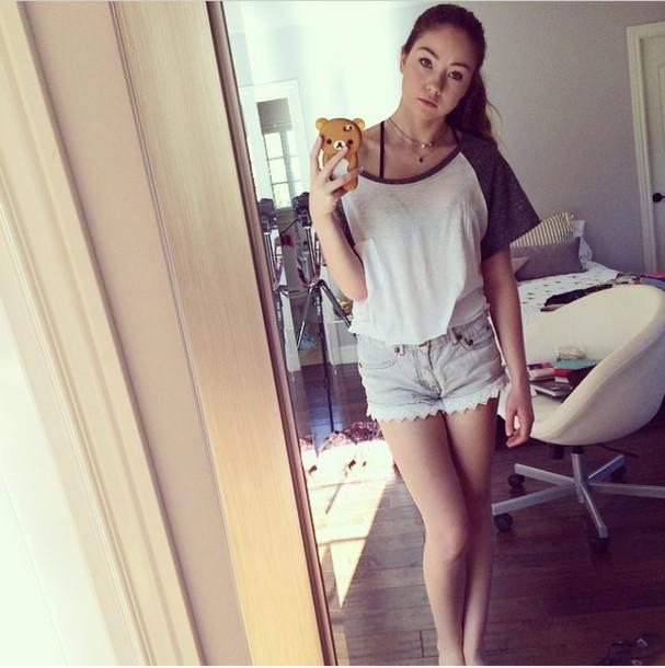 shirt t-shirt shorts short sleeve top bra necklace jean short jacket iphone case