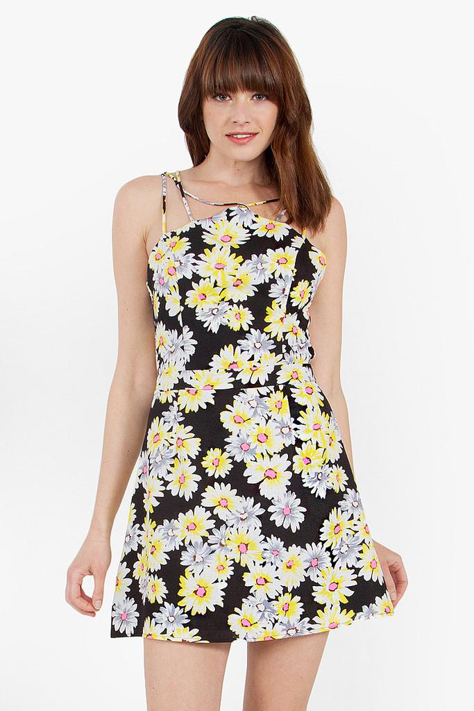 Daisy duke floral dress