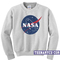 Nasa logo sweatshirt - teenamycs