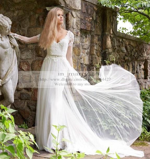 Dress Long Sleeve Wedding Dress Greek Style Wedding Dresses