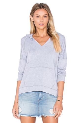 hoodie long cozy sweater