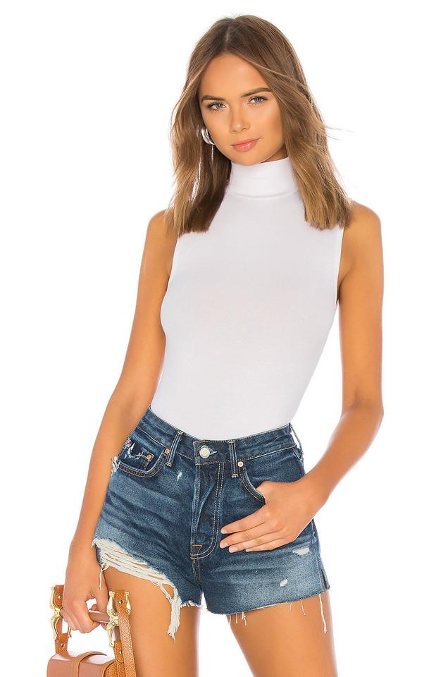 n:PHILANTHROPY Reese Bodysuit in white