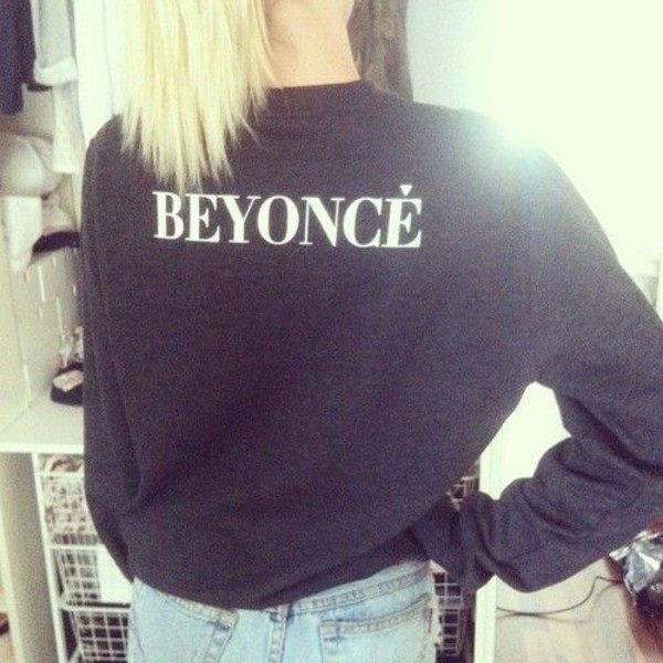 sweater black beyonce
