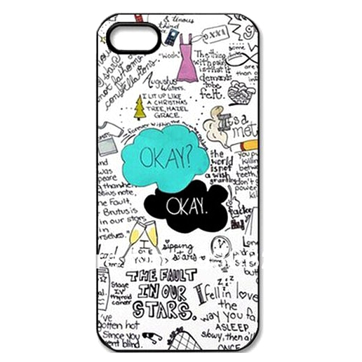 Fault In My Star One Piece Hard Cover Case For Many iPod iPhone Devices With Cute Graphics