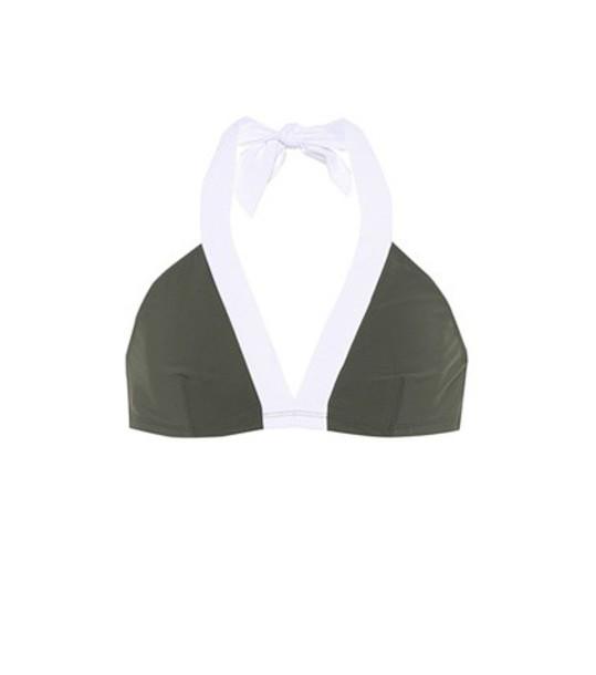 Diane Von Furstenberg bikini bikini top green swimwear