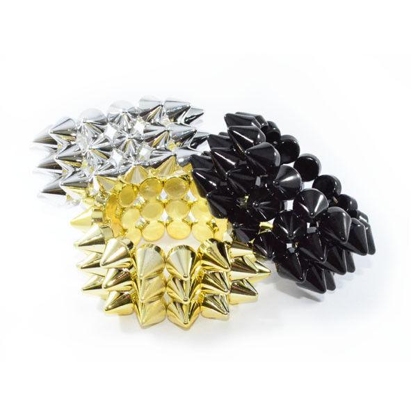 Triple spike bracelet