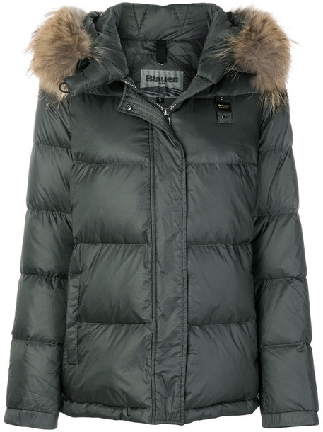 Blauer jacket fur women green