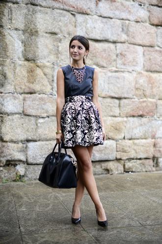 lovely pepa skirt t-shirt shoes bag jewels patent leather bag patent bag