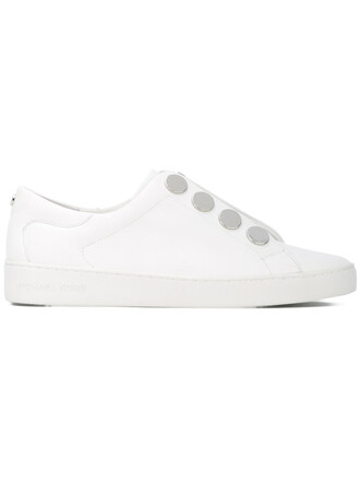 women sneakers lace white cotton shoes
