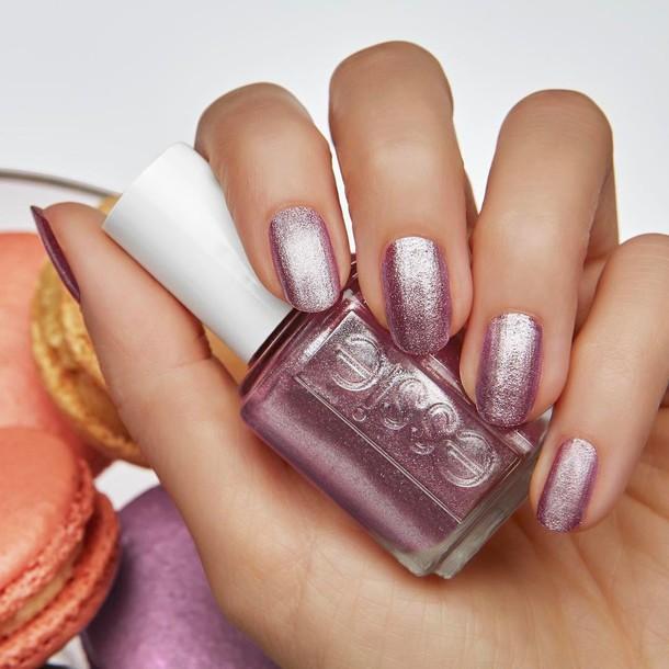 Pink And Blue Glitter Nail Polish: Nail Accessories, Tumblr, Nail Polish, Nails, Pink Nails