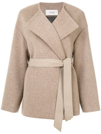 jacket women nude wool