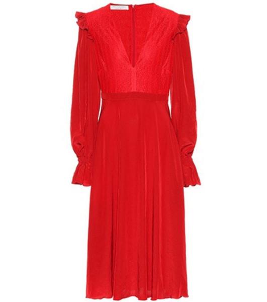 Philosophy Di Lorenzo Serafini Crêpe dress in red