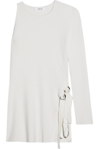 sweater knit white off-white