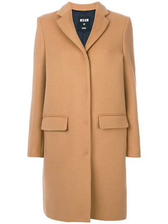 coat women wool brown