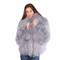 Women's kim mongolian lamb coat | the leather image