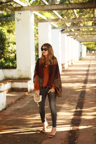 my daily style blogger jacket blouse bag