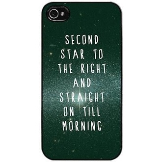 phone cover never land peter pan