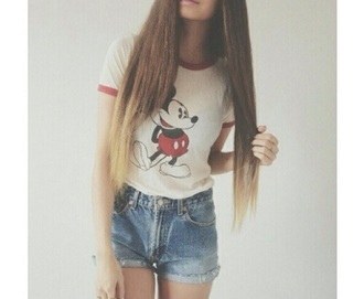 t-shirt mickey mouse cute grunge