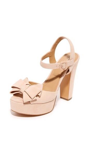 light sandals platform sandals nude shoes