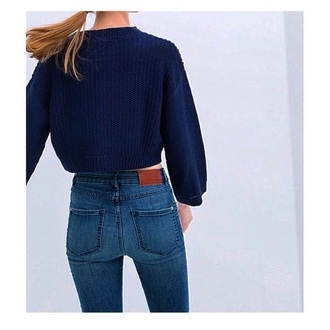 jeans blue jeans hair accessory sweater