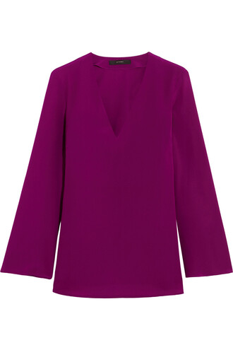 top silk purple